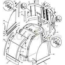 Солнцезащитный  комплект E-Модель