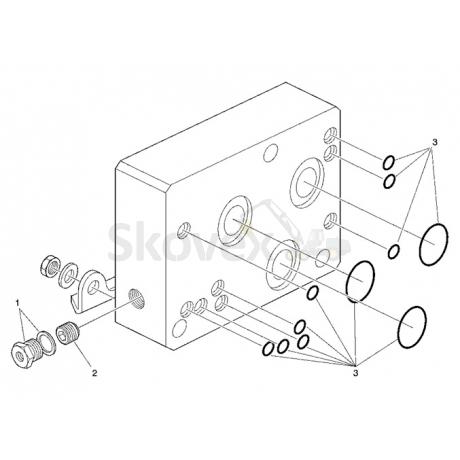 Блок Клапана  ВХОД LS90
