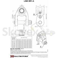 Riputi BR1-A 80-45/76,5-30 Baltrotors