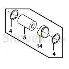 JD4045 kolvisõrme kpl(lukusti,sõrm,puks)
