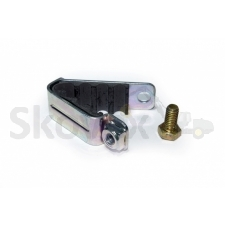 Fuel line clamp
